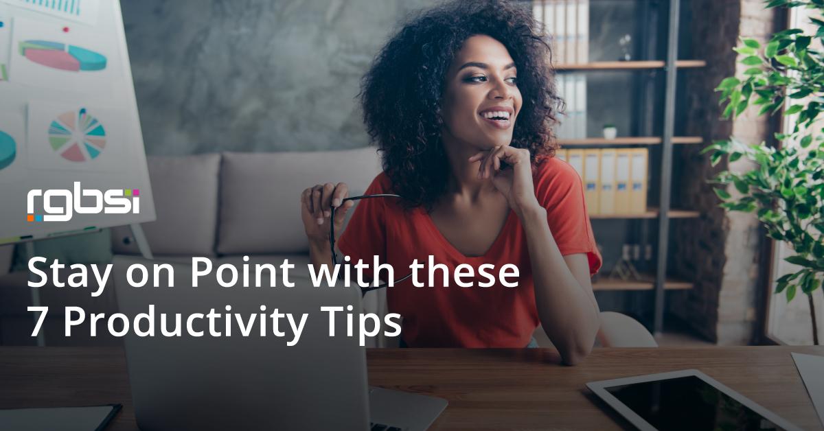 7 Productivity Tipis