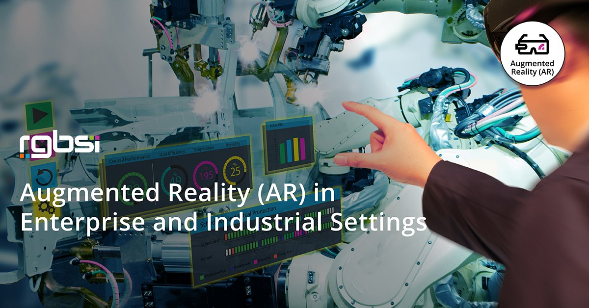 Augmented Reality in Enterprise and Industrial Settings