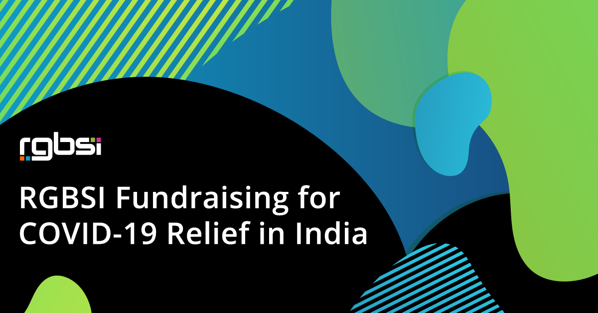 RGBSI Fundraising for COVID-19 Relief in India
