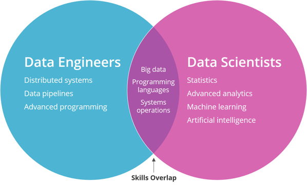 Data Engineer Skills vs Data Scientist Skills