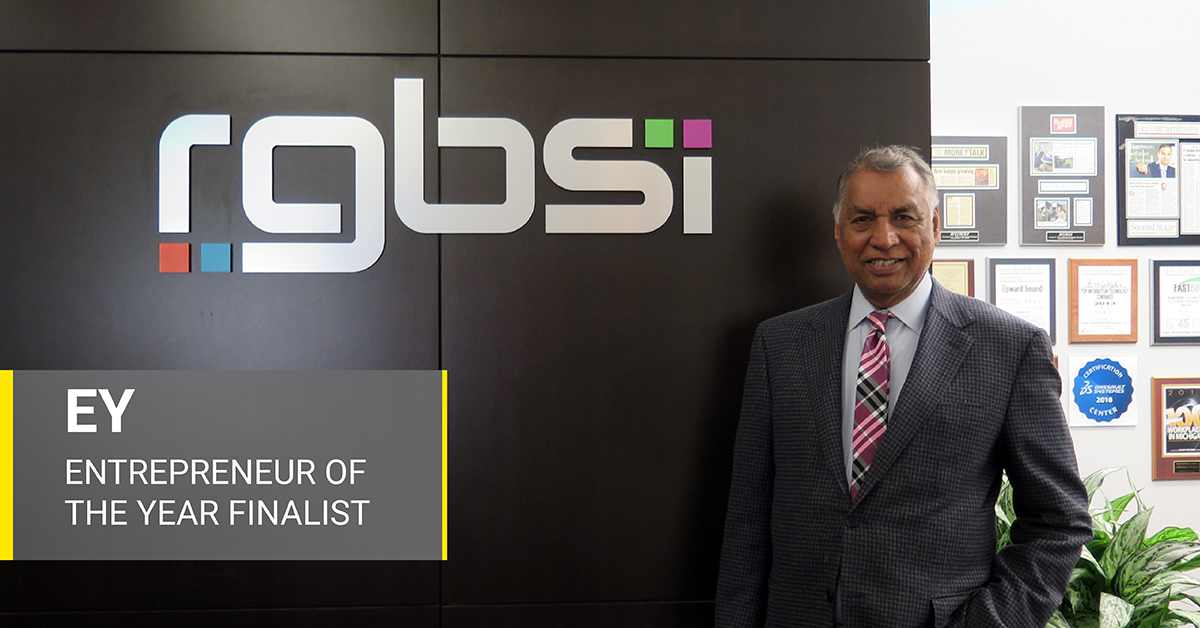 Dr. Singh Entrepreneur Of The Year Finalist