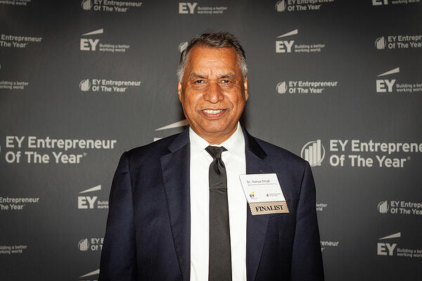 Dr. Singh EY Entrepreneaur Of The Year Finalist
