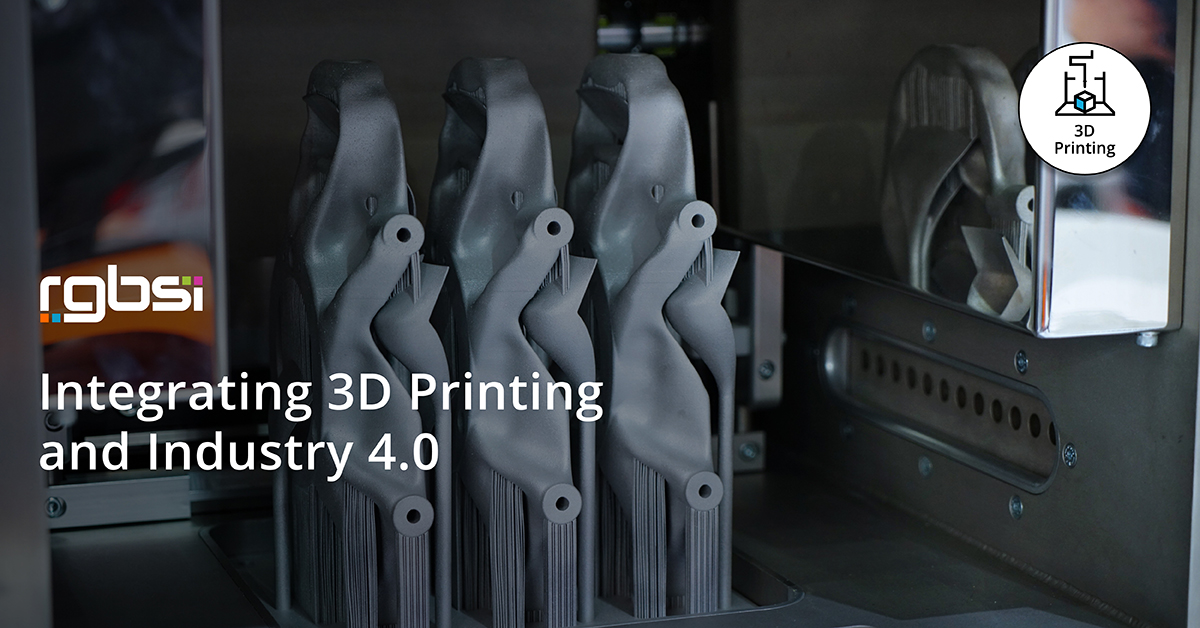 Integrating 3D Printing and Industry 4.0