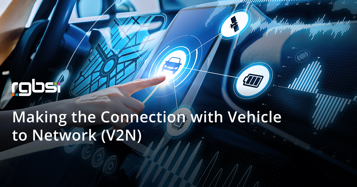 Making the Connection with Vehicle to Network (V2N)
