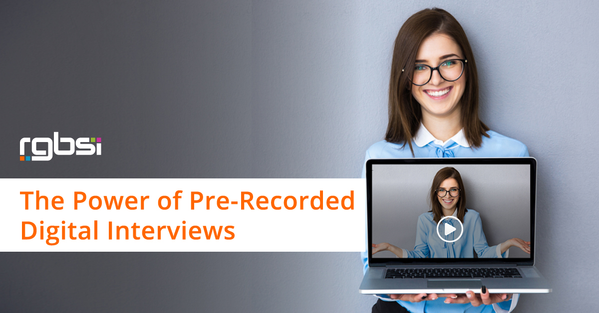 Pre-recorded interviews