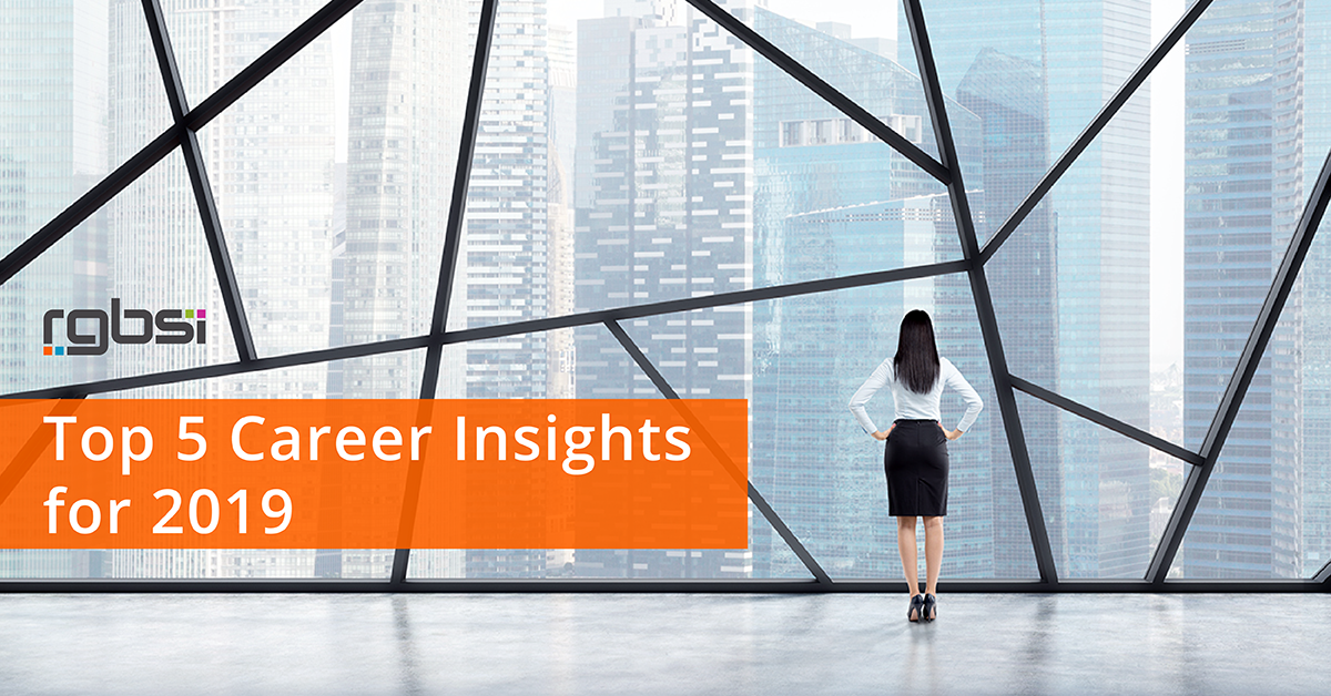 Top 5 Career Insights for 2019