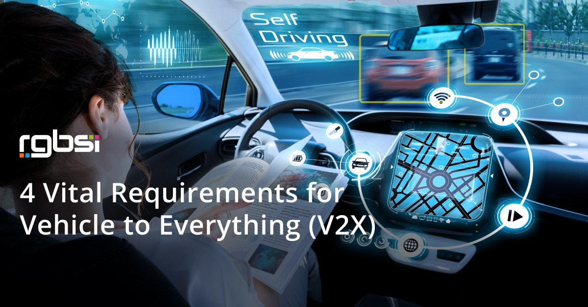 4 Vital Requirements for Vehicle to Everything (V2X)