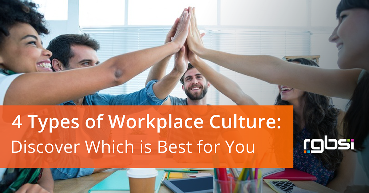 Workplace Culture Types