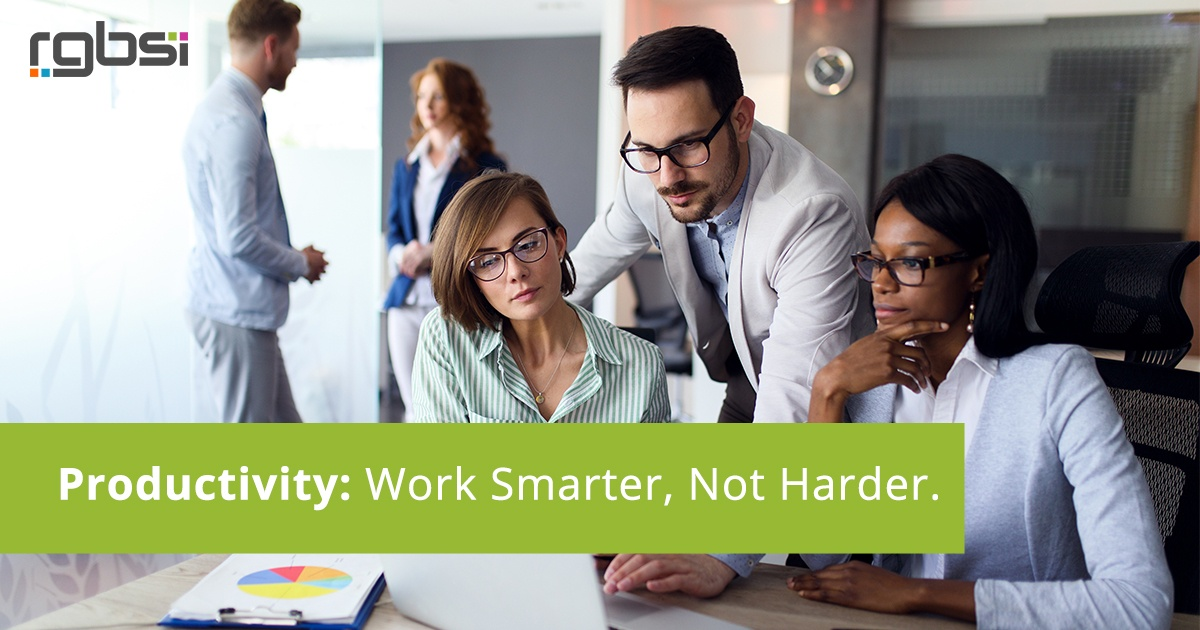 Productivity: Work Smarter, Not Harder.